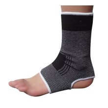 1 Pair Warm Ankle Support Men Women Foot Support Free Size BLACK
