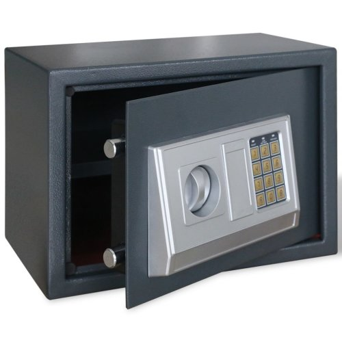 Electronic Digital Safe with Shelf 35 x 25 x 25 cm