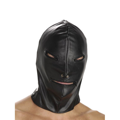 Strict Leather Basic Zipper Hood  BDSM Masks - Strict Leather