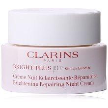 Clarins Bright Plus HP Brightening Repairing Night Cream for Unisex, 1.7 Ounce