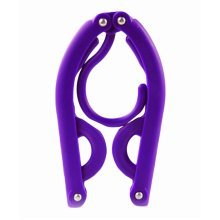 Foldable Stretchable Hanger Easy To Carry For Travel-Purple