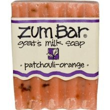 Indigo Wild: Zum Bar Goats Milk Soap, Patchouli & Orange 3 oz (3 pack)
