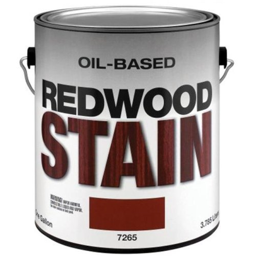 Valspar Brand Latex Redwood Stain Semi Solid 57-7260-01 GL - Pack of 4