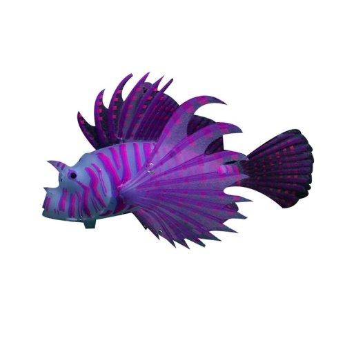 Creative Emulational Gold Fish Aquarium Ornament, Purple