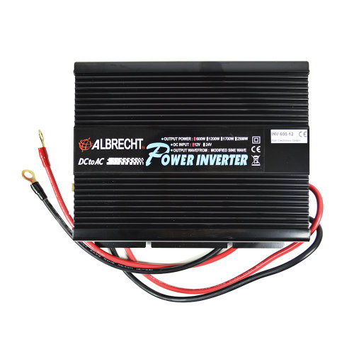 Voltage Inverter Albrecht A301M 600W 12V Code 47867
