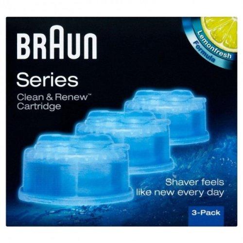 Braun Series Clean & Renew Cartridge 3 Pack