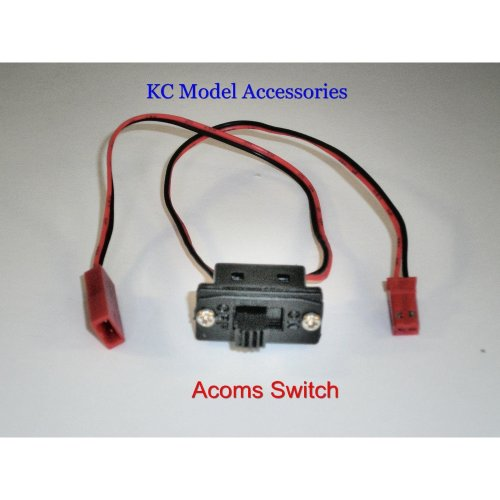 Acoms Switch For Battery Box JST BEC Connectors 2 Wire RC Car Switch Small On Of