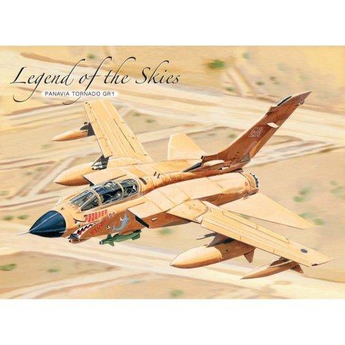 15x20cm Panavia Tornado GR1 aircraft legend of the skies metal wall sign