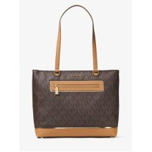 Michael Kors Jet Set Large Logo Tote - Brown - 30H6GFJT3B-200