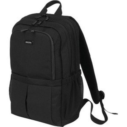 """Dicota Scale Carrying Case Backpack for 43.9 Cm 17.3"""" Notebook Black 600D P D31696"""