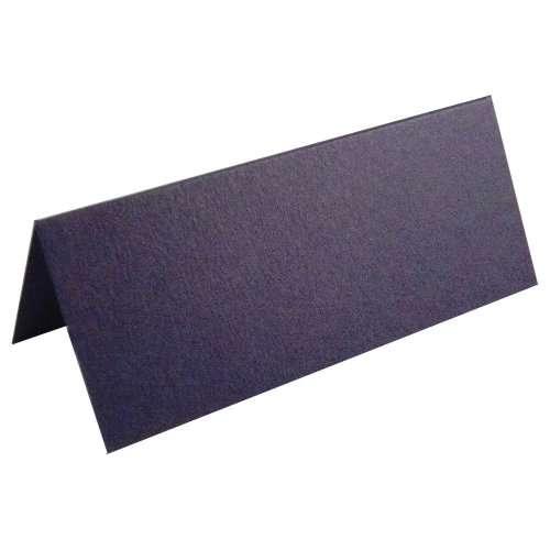 100 X Navy Blue Place Cards For Weddings & Parties