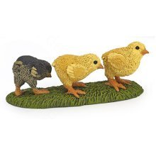 Papo 3 Chicks Bird Figurines - Figure Multicolour New Farmyard Animals Action -  papo chicks figure multicolour new farmyard animals action detailed