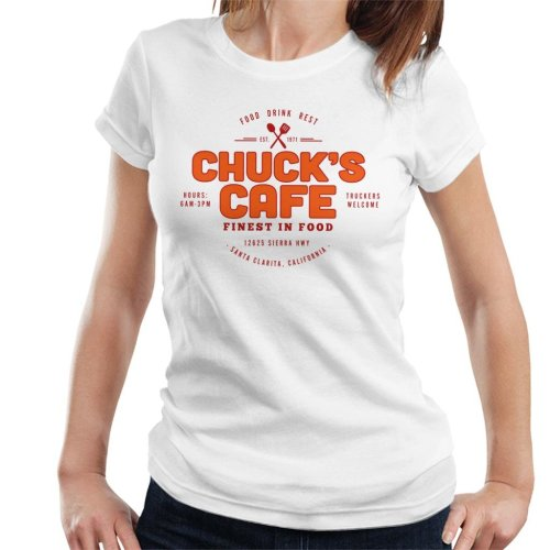 Chucks Cafe Santa Clarita Duel Women's T-Shirt