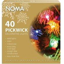 Noma Pickwick Christmas Lights Coloured  x 40 4311