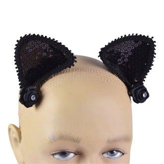 Bristol Novelty Adults Unisex Hair Clip Cat Ears