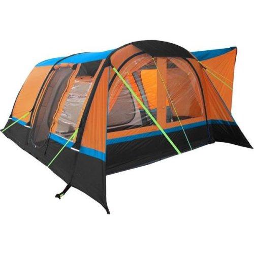 OLPRO Cocoon Breeze Camper van Driveaway Awning (Orange/ Black)