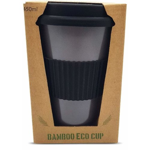 684438e09110 Reusable Bamboo Coffee Cup - ECO Friendly 450ml | Organic Bamboo Cup with Reusable  Silicone Lid and Sleeve - Environmentally Friendly and... on OnBuy