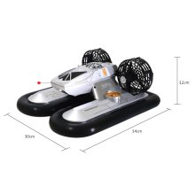 Radio Control 6653 4CH RC Speedboat Hovercraft with Water / Land Mode