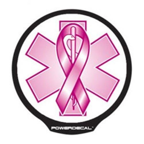 AXIZ GROUP FFPWR007 LED Light-Up Decal Breast Cancer
