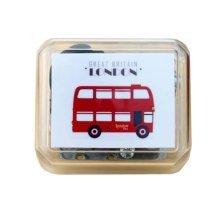 Mini Clockwork Music Box British Style Music Box Height Approx 1.5 Inch #5