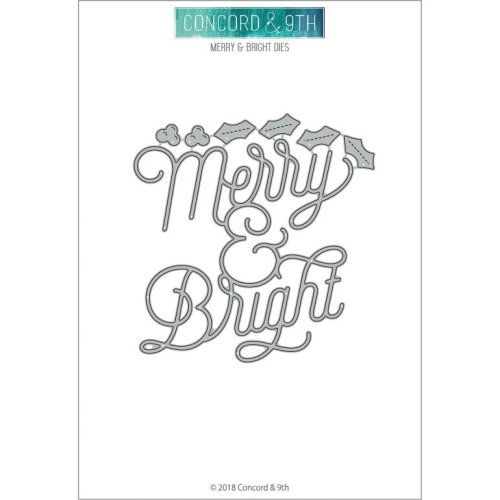 Concord & 9th Dies-Merry & Bright
