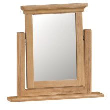 Stirling Oak Trinket Mirror