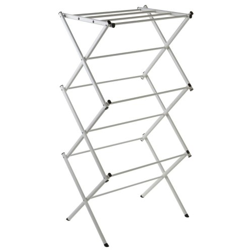 3-Tier Folding Clothes Dryer, White