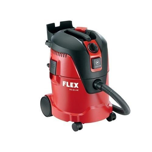 Flex Power Tools VCE26LL 1250 W 110 V MC Safety Vacuum Cleaner - Red
