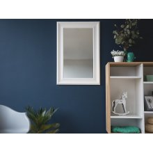 Wall Mirror - White Mirror - Framed - Home Decor - LUNEL