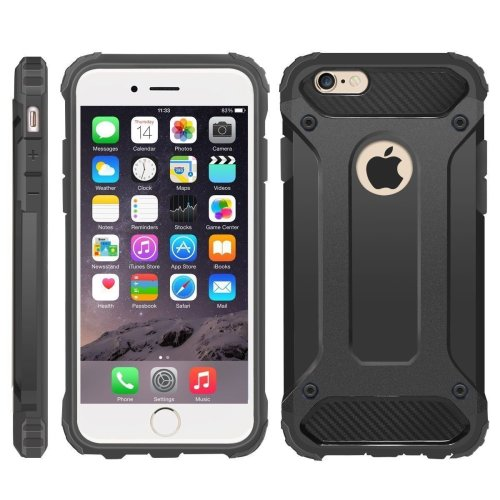 iPhone 6/6S Case, Hybrid Heavy Military-Duty Case