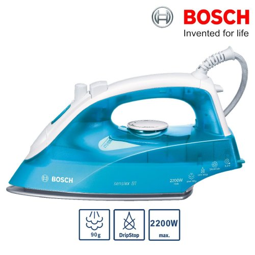 Bosch TDA2633GB Sensixx B1 Steam Iron 2200W Vertical Steam 90g Steam Shot