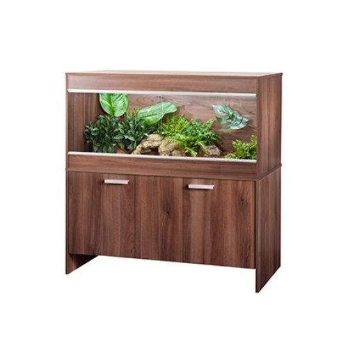 Vivexotic Viva Repti Cabinet Walnut Extra Large 1375x490x645mm