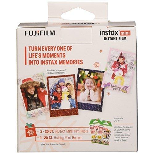 Fujifilm Instax Mini Film Holiday Value Pack 40 Exposures