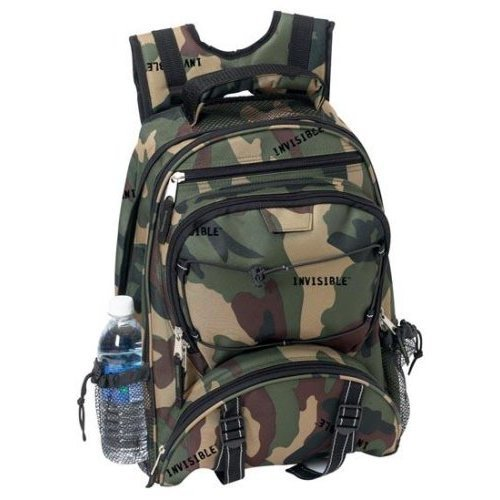 Extreme Pak With Invisible Camo Pattern Polyester Backpack