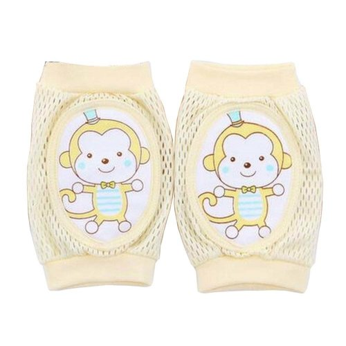 Cute Cotton Mesh  Baby Leg Warmers Knee Pads/Protect-Monkey