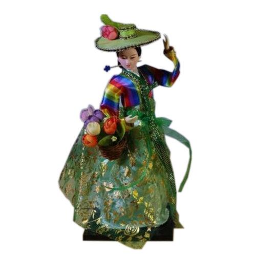 Beautiful Oriental Doll Korean Doll Furnishing Articles, No.2