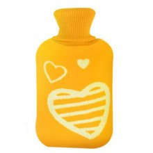 2LWarm Cute Hot-Water Bottle Water Bag Water Injection Handwarmer Pocket Cozy Comfort,G