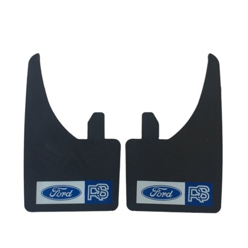 Pair Universal Ford RS Mudflaps Fits Focus Fiesta Mondeo Escort Focus