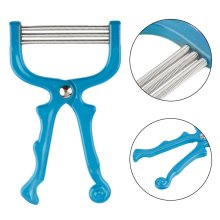 Handheld Facial Hair Removal Threading Spring Rolled Face Beauty Epilator Tools 3 Colors
