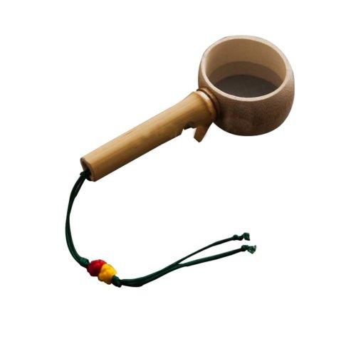 Tea Filter Tea Straine Bamboo Root Bamboo Spoon Creative