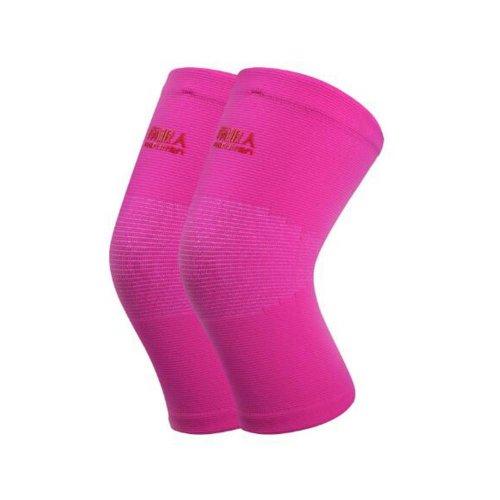 Unisex Knee Brace Pads Knee Warmers Sleeve Keep Your Knee Warm-Pink