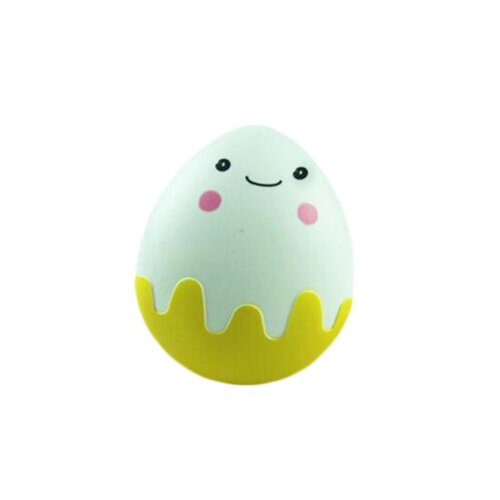 Cute Creative Little Egg Contact Lens Cases For Sweetheart-Yellow
