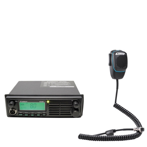 CB Radio  Albrecht AE 6491 CB radio + Dual Mike with 6-pin Bluetooth