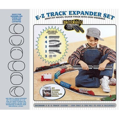 Bachmann Trains Snap Fit E Z Track Nickel Silver Layout Expander Set