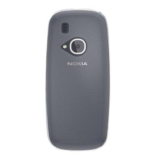 InventCase Premium TPU Gel Case Cover Skin for the Nokia 3310 2017 Version - 100% Transparent / Clear
