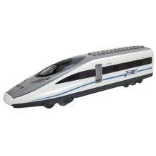 Simulation Locomotive Toy Model Trains Speed Rail Assembles Toy, (23*5.5*4CM)
