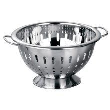Stainless Steel Colander Double Handles Perfect For Pasta, Vegetables
