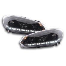 DRL Daylight headlight  VW Golf 6 type 1K Year 08- black