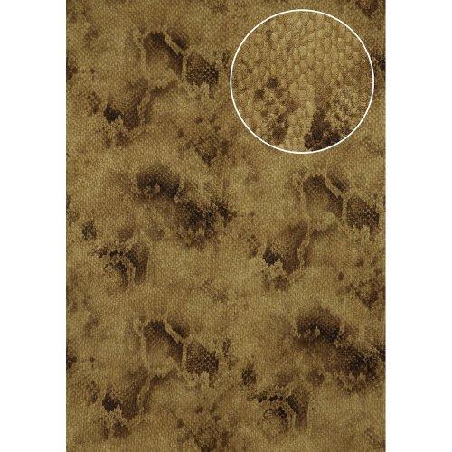 Atlas STI-5100-3 Animal pattern wallpaper shimmering brown-beige 7.035 sqm