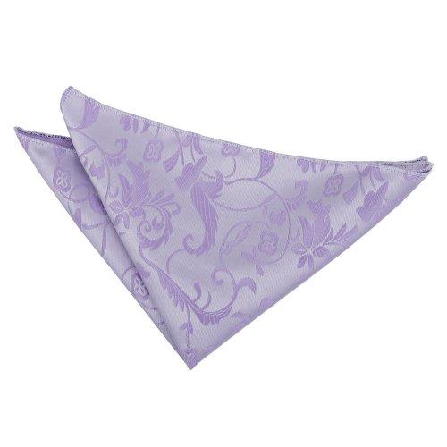 Lilac Floral Pocket Square